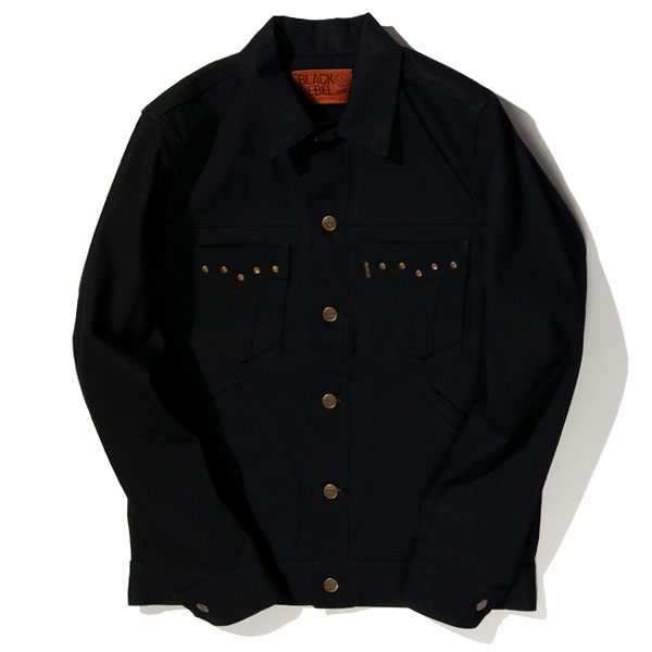 RG BLACK REBEL / Road Jack-II DENIM JKT (BK)