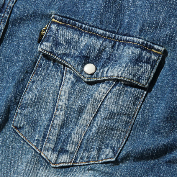 RG BLACK REBEL / ROAD JACK DENIM SH-VINTAGEWASH(IND)