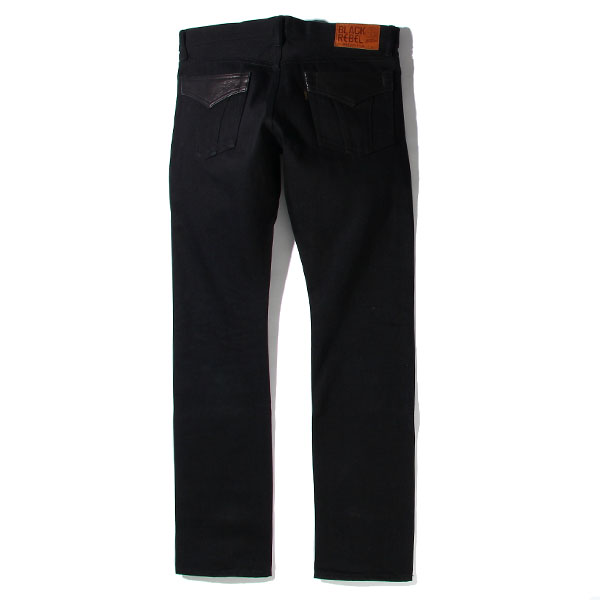 RG BLACK REBEL / Road Jack-I DENIM PANTS (BK)