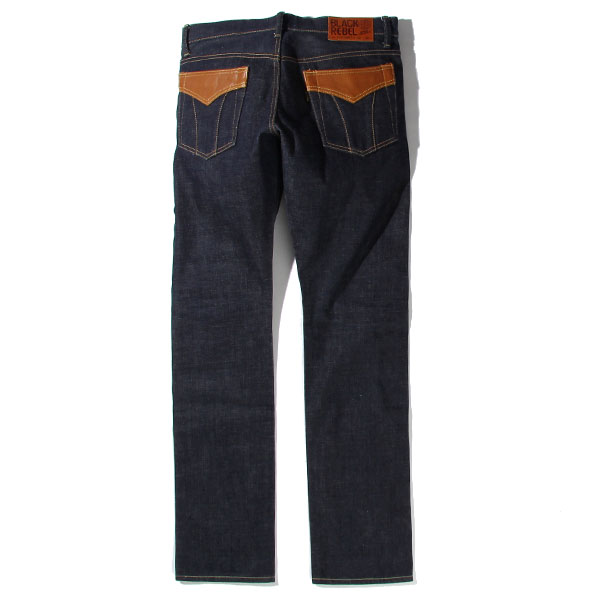RG BLACK REBEL / Road Jack-I DENIM PANTS (IND)