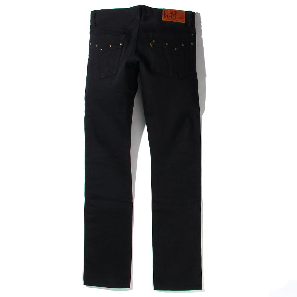 RG BLACK REBEL / Road Jack-II DENIM PANTS (BK)