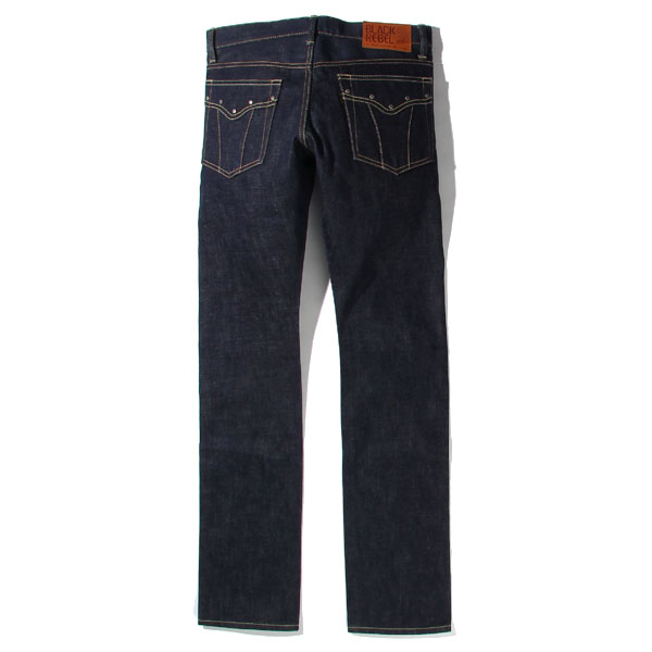 RG BLACK REBEL / Road Jack-II DENIM PANTS (IND)