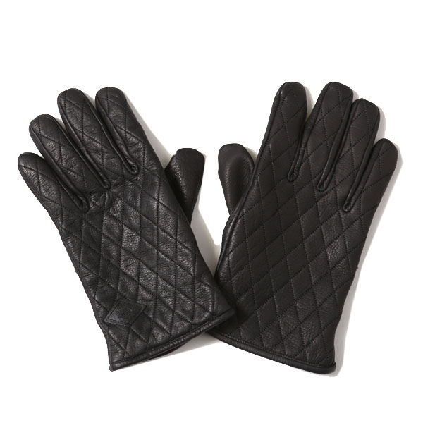 RG BLACK REBEL / OUTSIDERS LEATHER GLOVE (BK)
