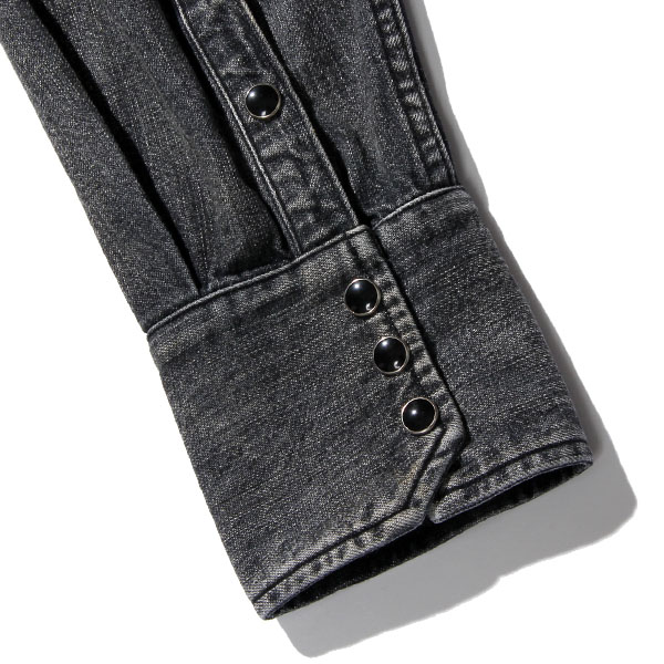 RG BLACK REBEL / ROAD JACK DENIM SH-VINTAGE WASH(BK) - ウインドウを閉じる