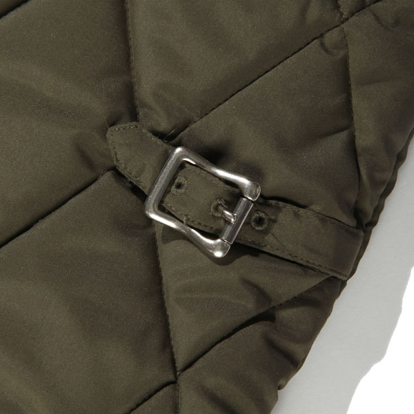 RG BLACK REBEL / REBELS QUILT VEST (KHAKI)