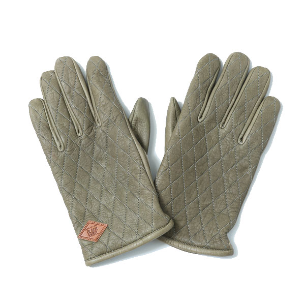 RG BLACK REBEL / OUTSIDERS LEATHER GLOVE (KHA)