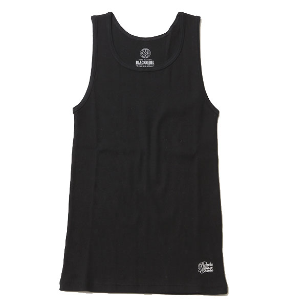 RG BLACK REBEL / TANKTOP – PLAIN (BK)