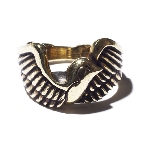 RG BLACK REBEL / SWALLOW RING (GOLD)