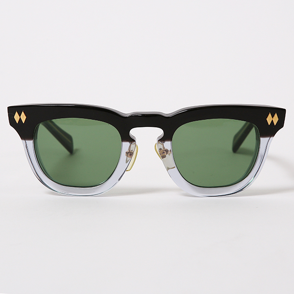 RG BLACK REBEL / J.D-REV(BK-CLEAR GRADATION/GREEN)