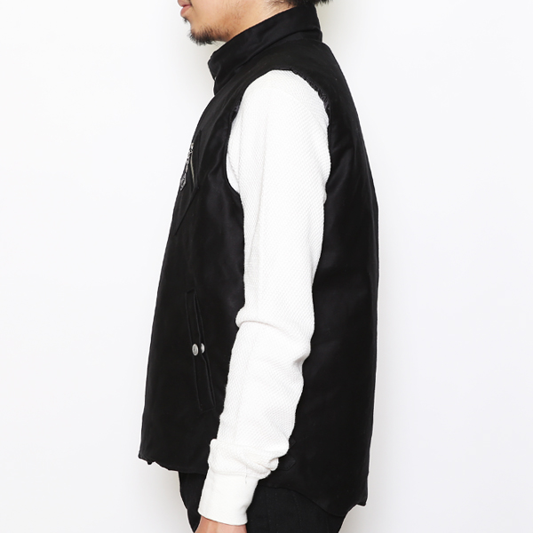 RG BLACK REBEL / MIL VEST (BK)