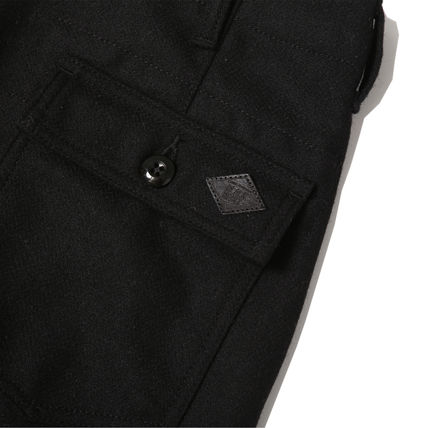RG BLACK REBEL / HERRINGBONE BAKER PANTS (BK)