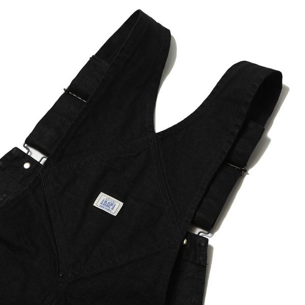 RG BLACK REBEL / DENIM OVERALLS (BK) - ウインドウを閉じる