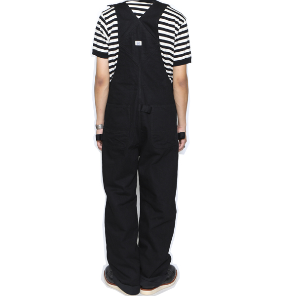 RG BLACK REBEL / DENIM OVERALLS (BK)
