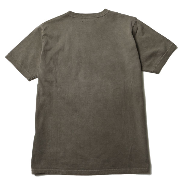 RG BLACK REBEL / DIA STITCH PKT TEE (DYED GREEN)