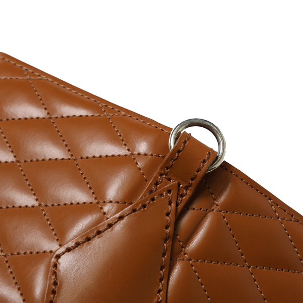 RG BLACK REBEL / OUTSIDERS DIA QUILTED LEATHER WALLET (CAMEL)