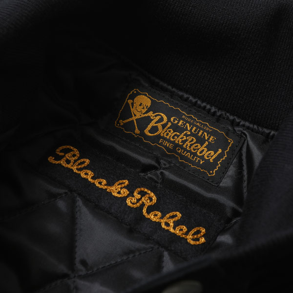 RG BLACK REBEL / MUNCH SKULL MC JACKET (BK) - ウインドウを閉じる