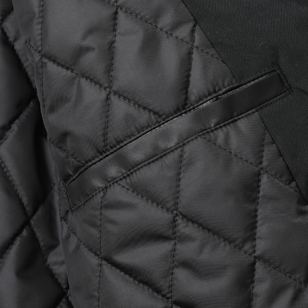 RG BLACK REBEL / SQUAD QUILTING JACKET (BK)