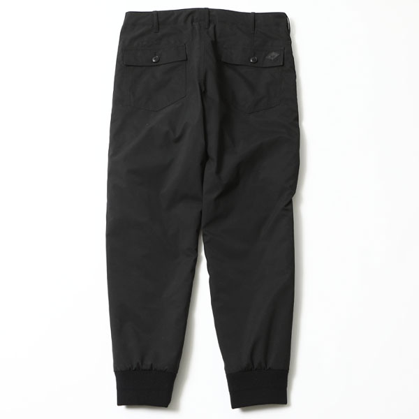 RG BLACK REBEL / SQUAD QUILTING PANTS (BK)