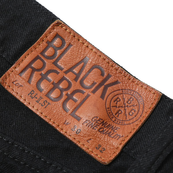 RG BLACK REBEL / ROAD JACK-Ⅱ DENIM PANTS - STRETCH (BK) - ウインドウを閉じる