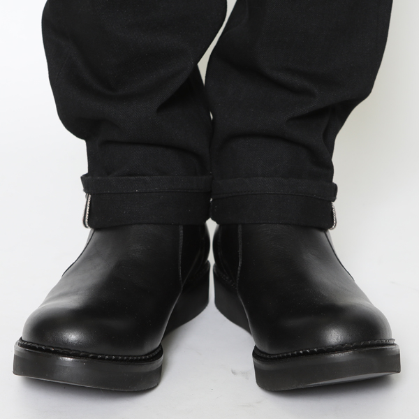 RG BLACK REBEL / SIDE GORE BOOTS