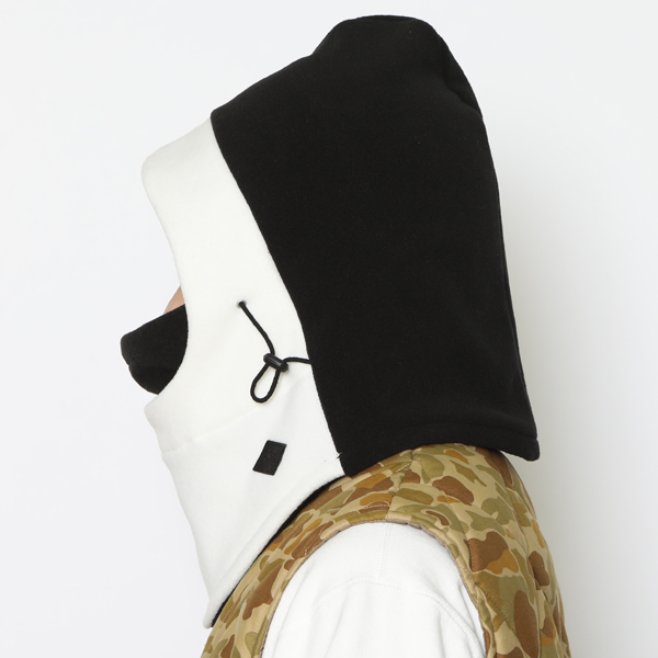 RG BLACK REBEL /REBELS BALACLAVA (BK/WH)