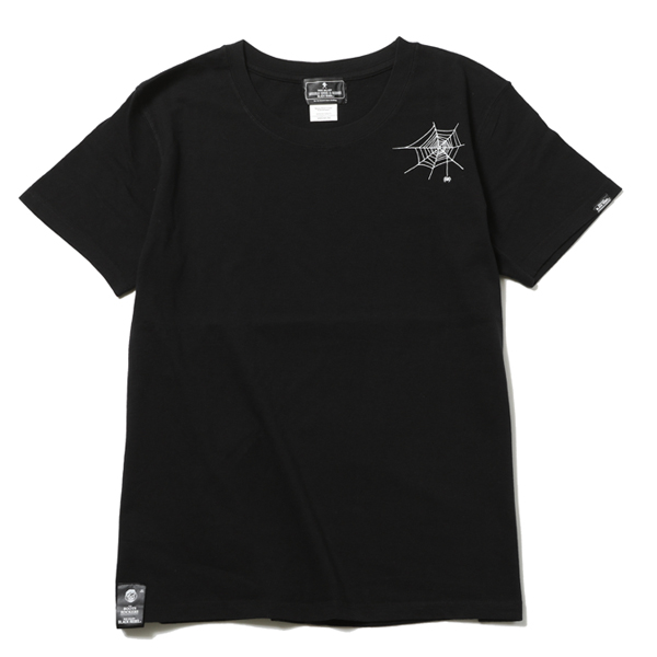 RG BLACK REBEL / SPIDER TEE (BK)