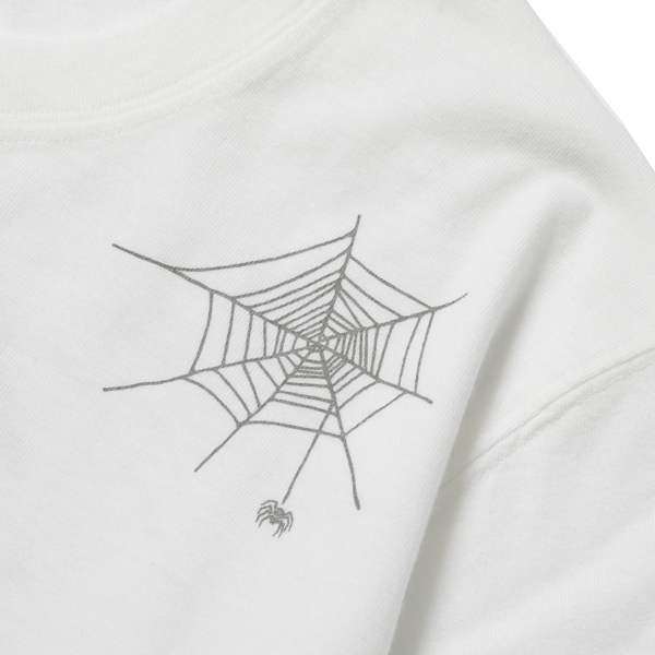 RG BLACK REBEL / SPIDER TEE (WH)