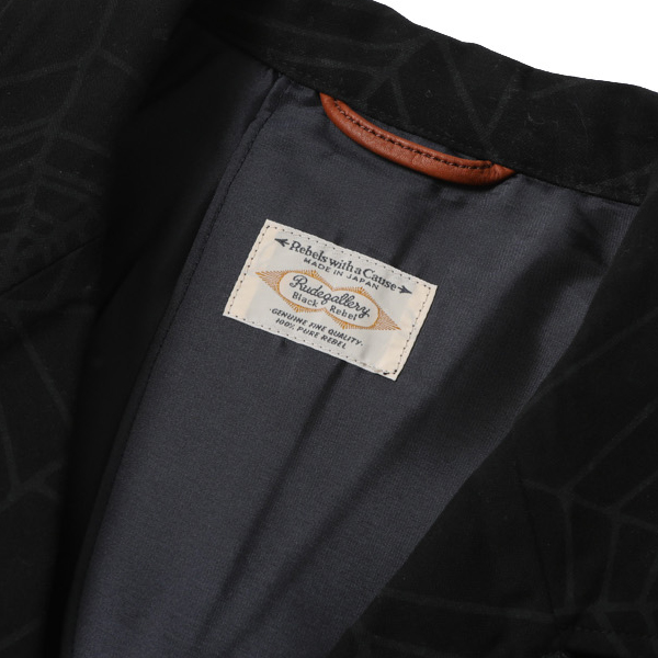 RG BLACK REBEL / SPIDER NET HIGH ROLLERS JACKET