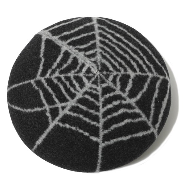 RG BLACK REBEL / SPIDER NET BERET