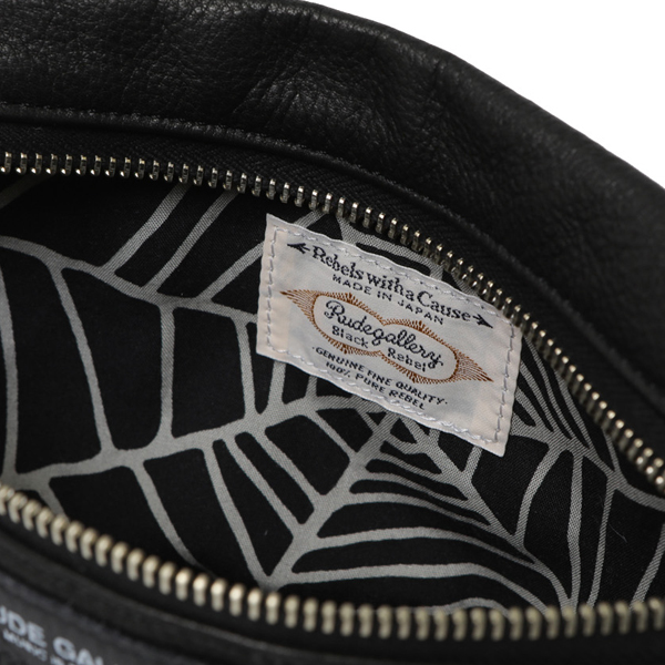 RG BLACK REBEL /MAKE UP BAG-SPIDER