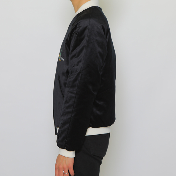 RG BLACK REBEL / SWALLOW SOUVENIR JACKET (BK)