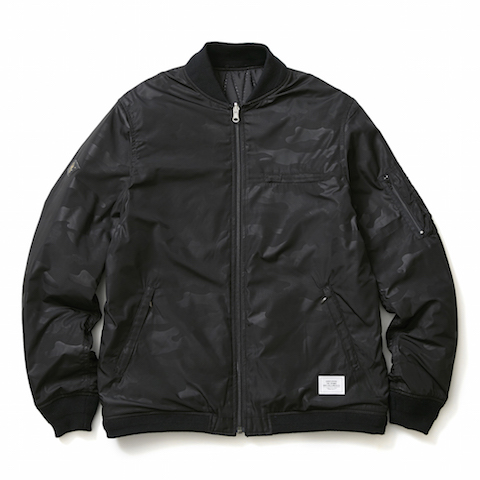 CRIMIE /THUNDER AND CAMO REVERSIBLE JACKET