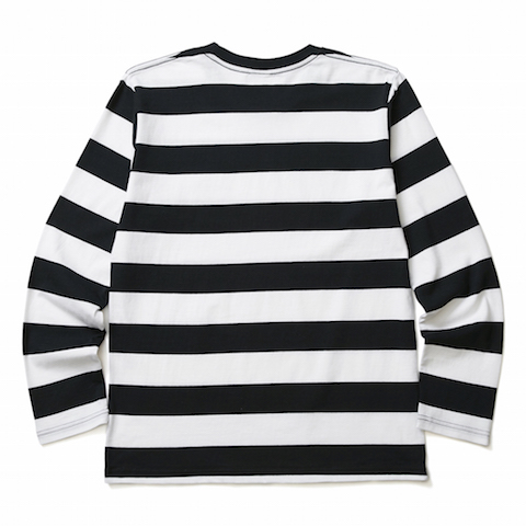 CRIMIE / BORDER LONG SLEEVE T-SHIRT