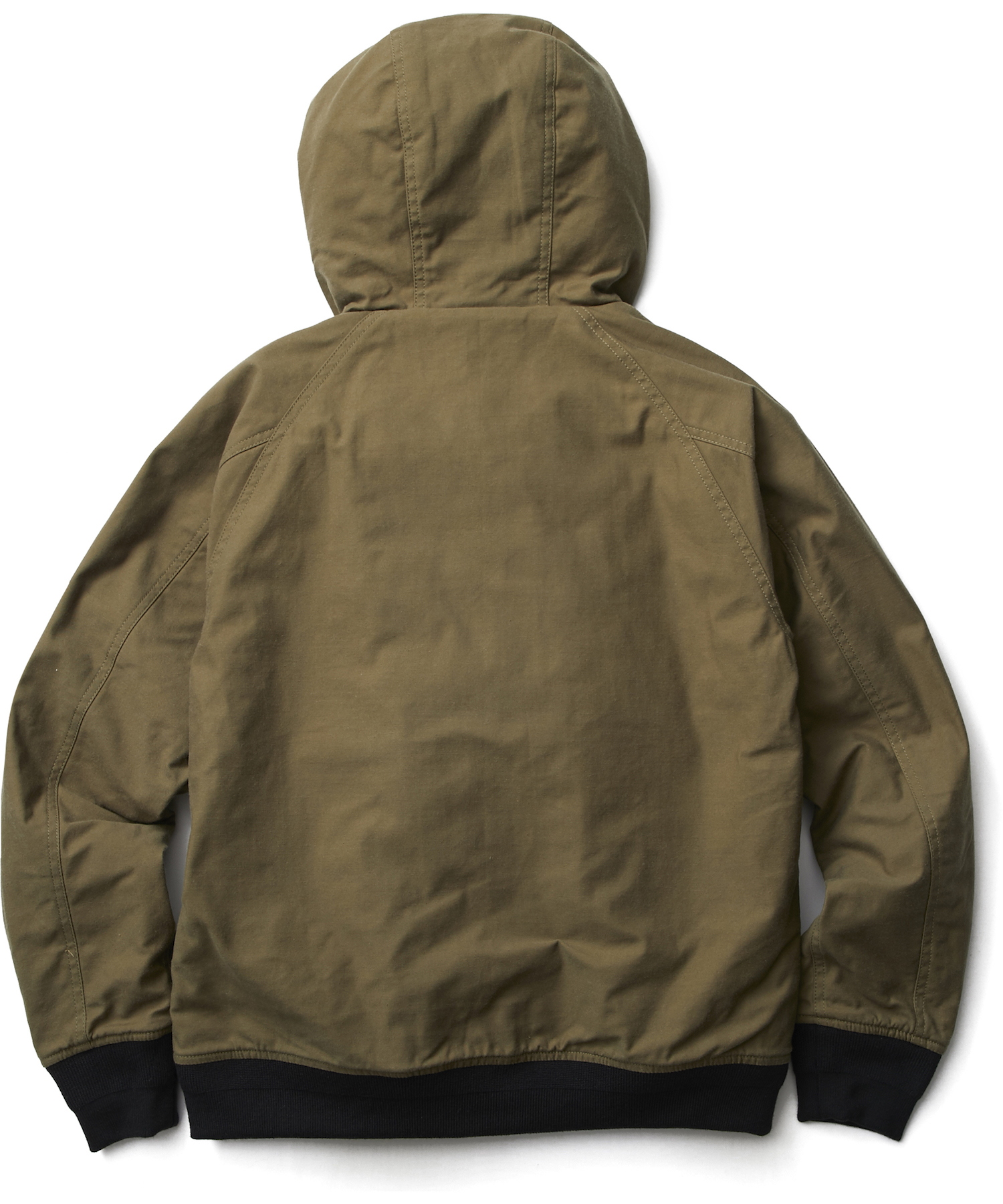 CRIMIE / BACK SATIN HOODED PARKA (KHA)
