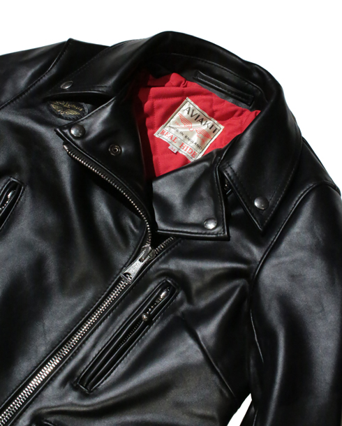 Lewis Leathers / #391LH/LADIES 391 LIGHTNING HORSE HIDE (BK)