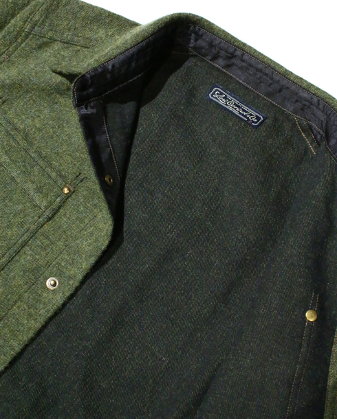 LOST CONTROL / WC BRUSHED TWILL SHIRTS (GRASS GREEN)