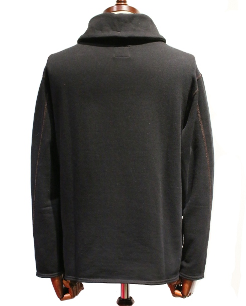 LOST CONTROL / Shawl Collar Sweat (BK)