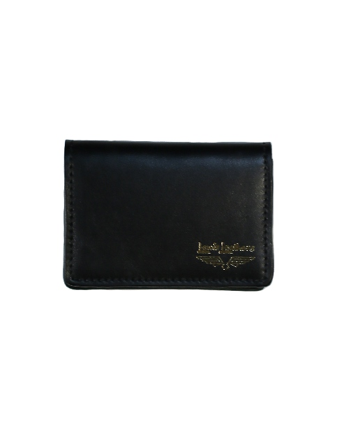 Lewis Leathers / CARD CASE (BLACK)