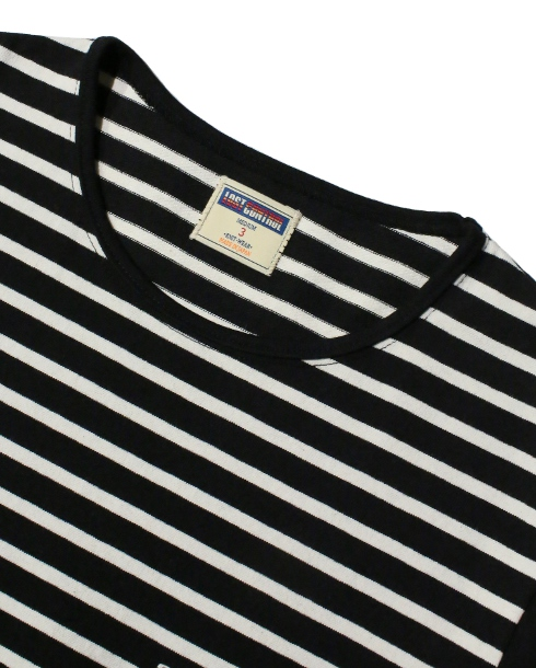 LOST CONTROL /CN SS TEE -BORDER- (BK/IVORY)