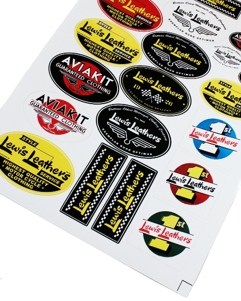 Lewis Leathers / STICKER SET