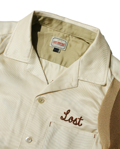LOST CONTROL / SS RAYON SHIRTS (IVORY)