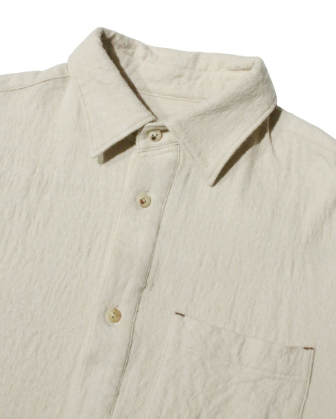 LOST CONTROL / MILITARY SMOCK SHIRTS (IVORY)