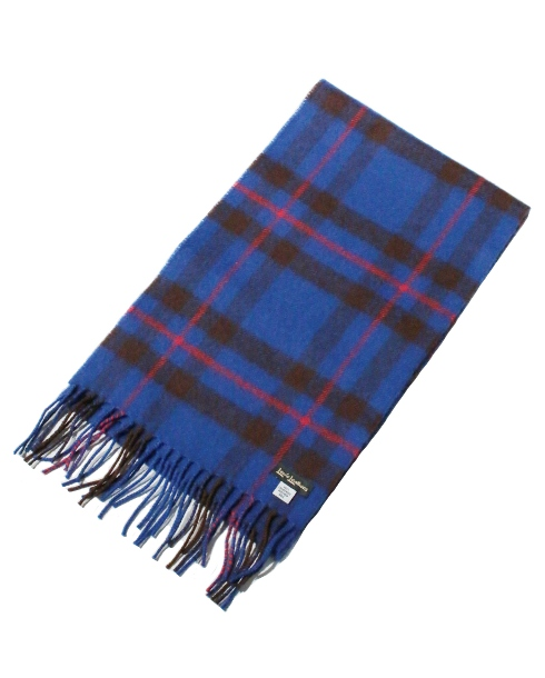 Lewis Leathers / AVIAKIT WOOL SCARF (BLUE)