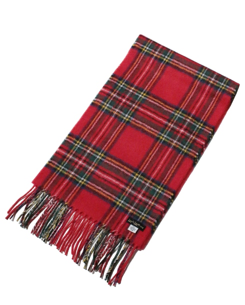 Lewis Leathers / AVIAKIT WOOL SCARF (RED)