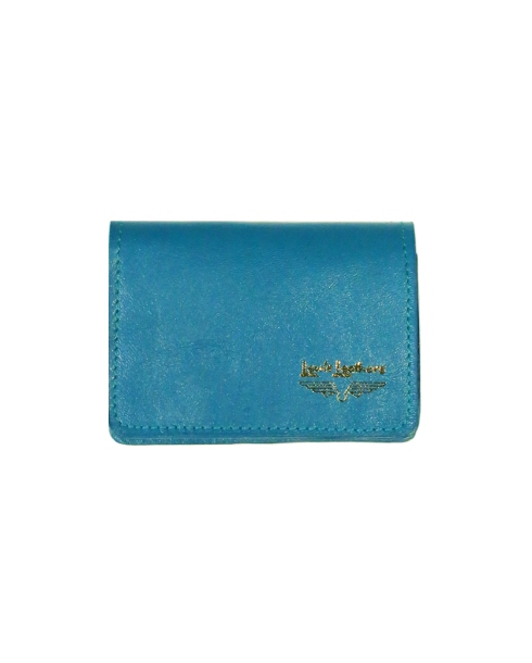 Lewis Leathers / CARD CASE (VINTAGE TURQUOISE)