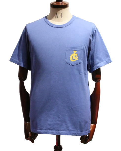 LOST CONTROL / LC Pocket TEE (OLD BLUE)