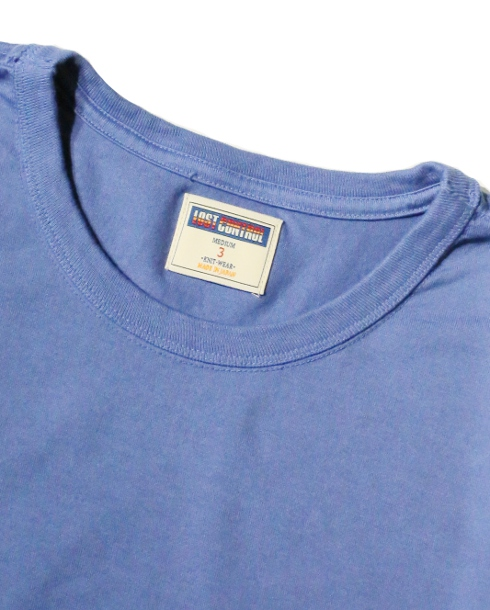LOST CONTROL / LC Pocket TEE (OLD BLUE) - ウインドウを閉じる