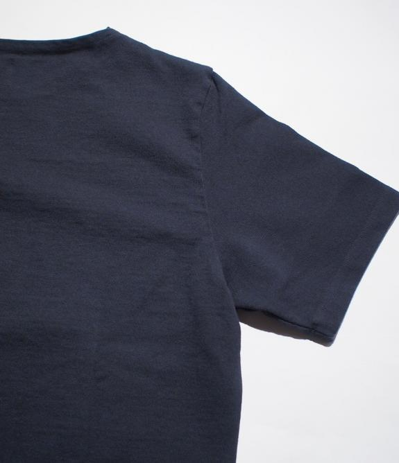LOST CONTROL / BOAT NECK HEAVY TEE (BK)