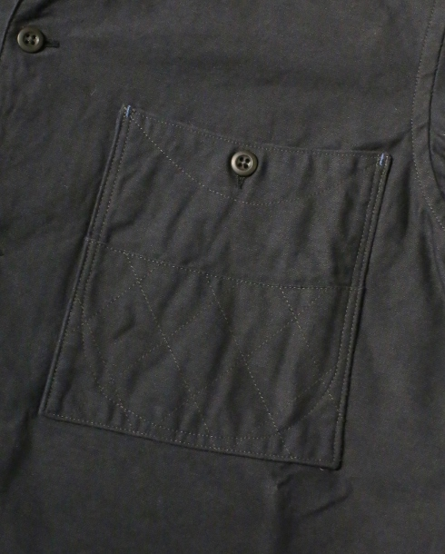 LOST CONTROL / SQUARE POCKET BS SHIRTS (BK)