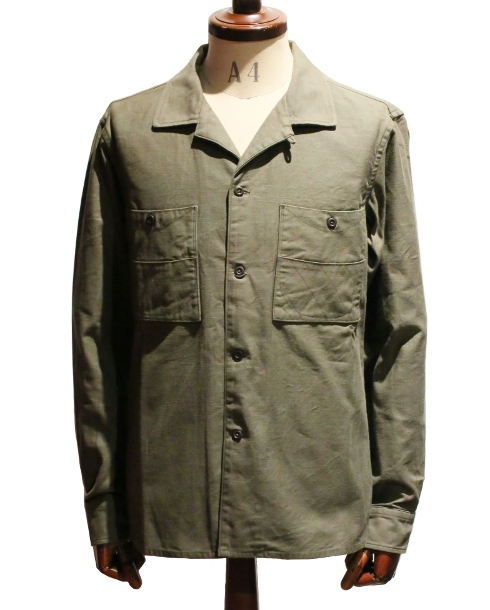 LOST CONTROL / SQUARE POCKET BS SHIRTS (OLIVE)